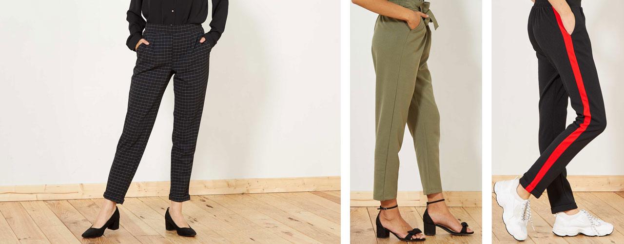 Tendencias En Pantalones De Mujer Aw18 Vuelve El Tiro Alto Kiabi